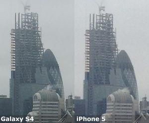 Galaxy S4 versus 6