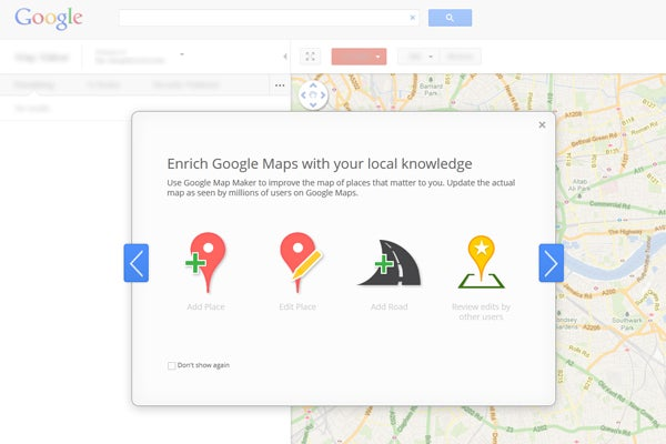 DIY mapping introduced as Google Map Maker hits UK | Trusted