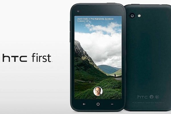 HTC First with Facebook Home