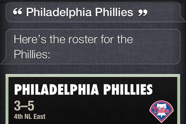 Yahoo powers Siri's sports knowledge