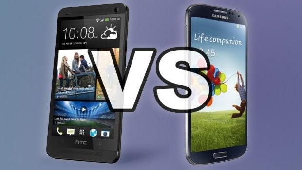 Galaxy S4 Vs Htc One X Samsung Galaxy S4 vs H...