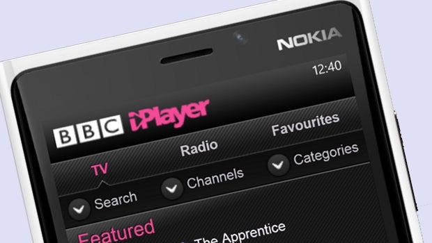 BBC iPlayer on Windows Phone 8