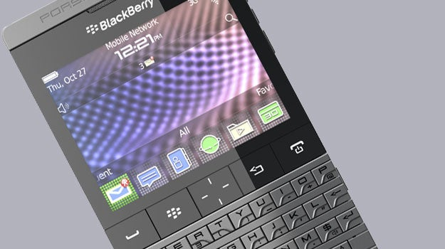 BlackBerry Mercedes phone a potential follow-on to the Porsche Design BlackBerry P9981 | Trusted Reviews