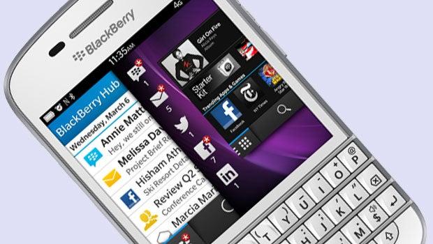 White BlackBerry Q10 hits UK via Carphone Warehouse | Trusted Reviews