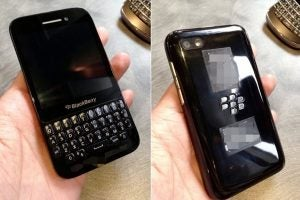 BlackBerry R10 leaks online as affordable BlackBerry Q10 | Trusted