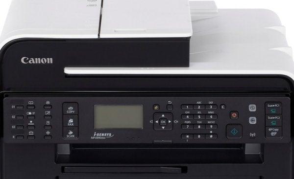 Canon i-SENSYS MF4890dw - Controls