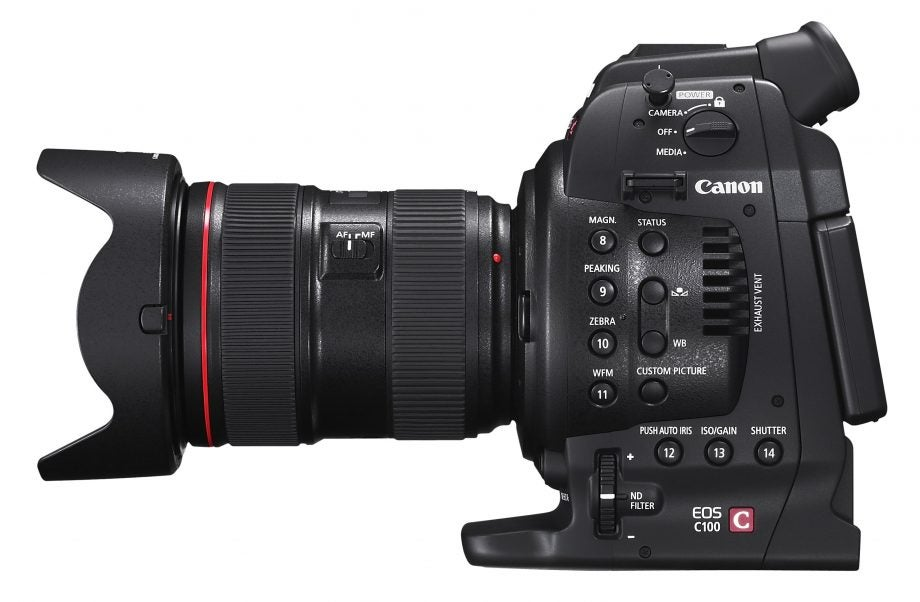 Canon EOS C100 Review | Trusted Reviews