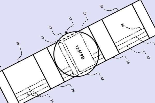Google smartwatch patent application