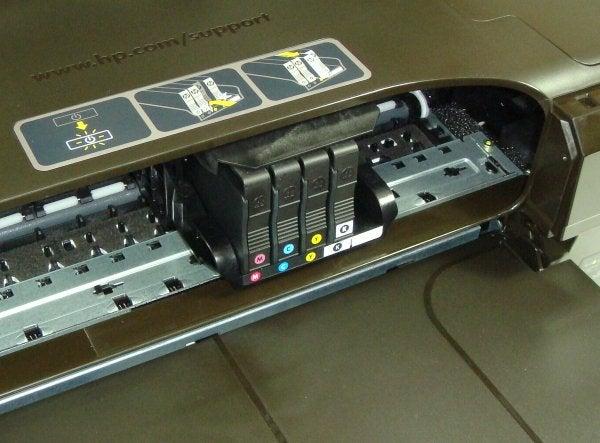 HP Officejet 7110 Wide Format - Cartridges