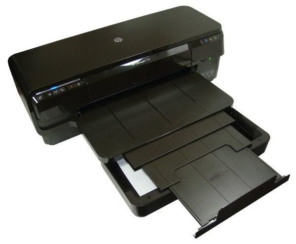 HP Officejet 7110 Wide Format - Format Trays