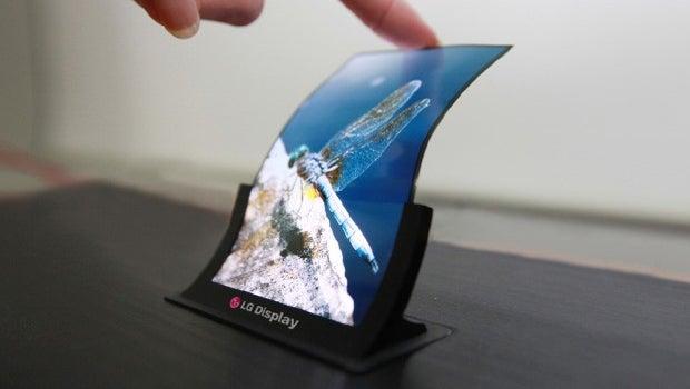 LG flexible display
