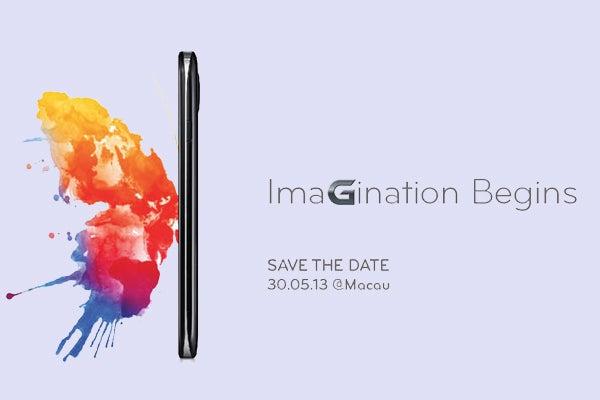 LG Optimus G2 launch invitation