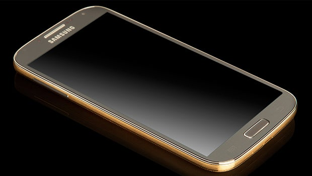 Samsung Galaxy S4 in Gold