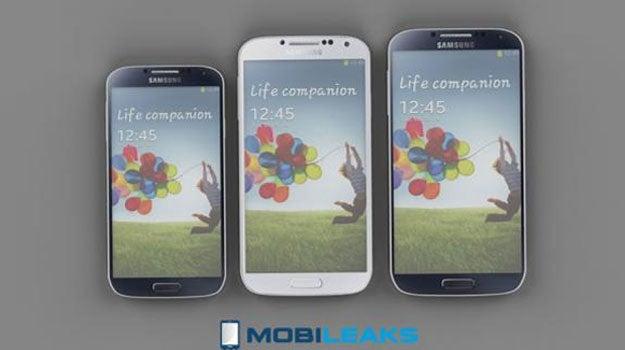 Samsung Galaxy S4 line up
