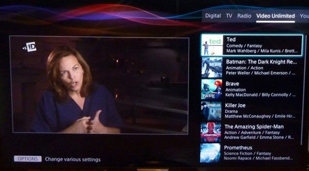 Sony's 2013 Smart TV System – Online Content and TV SideView