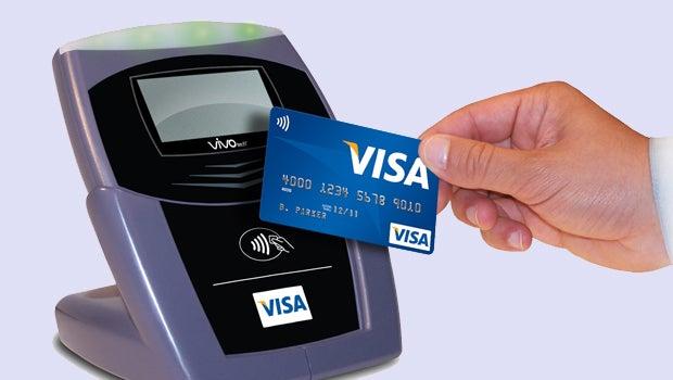Visa contactless payments