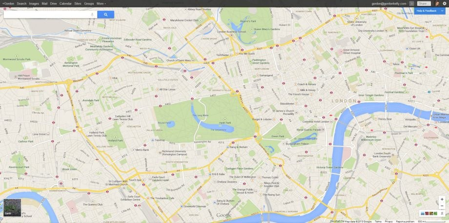 Google Map Of London.Google Maps 2013 Review Trusted Reviews