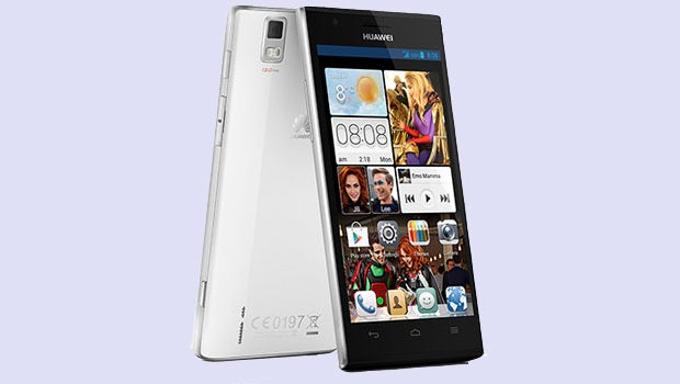 Huawei Ascend P2 in White