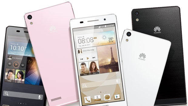 Huawei Ascend P6 availble to pre-order