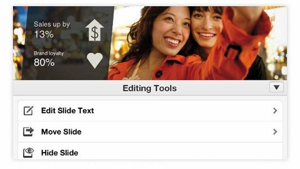 Microsoft Office iPhone app screen