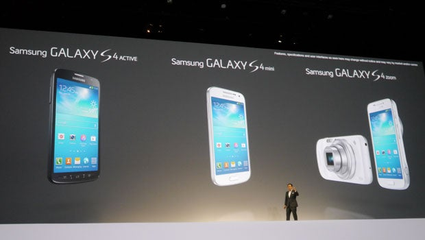 Samsung: 'There are no more Samsung Galaxy S4 spinoffs in the works' | Trusted Reviews