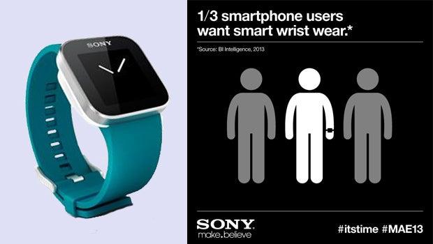 Sony SmartWatch Twitter teasers