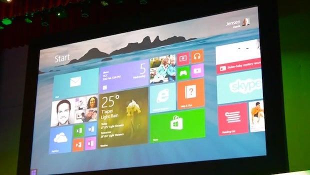 Microsoft Demonstrates Windows 8 1 Start Button
