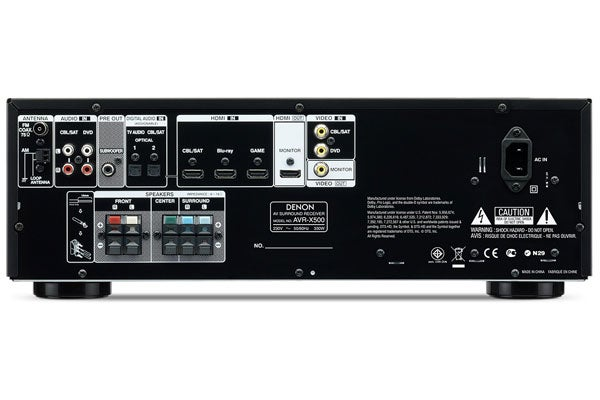 Denon AVR-X500 Review   Trusted Reviews