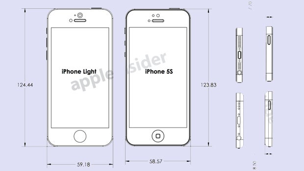 Iphone 5s And Budget Iphone Diagrams Leak