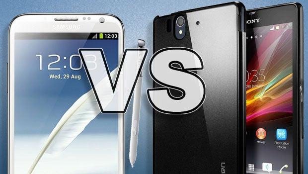 Sony Xperia Z Ultra vs Samsung Galaxy Note 2 | Trusted Reviews