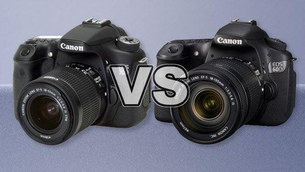 Canon EOS 70D vs 60D