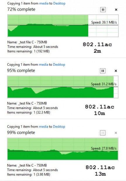 Asus RT-AC66U AC speeds