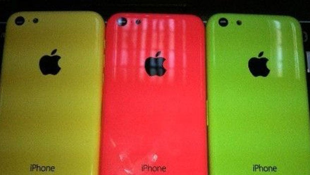 Budget iPhone colours