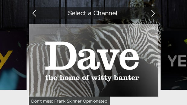 Dave on YouView