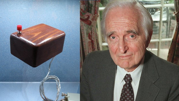 Douglas Engelbart and the first computer mouse