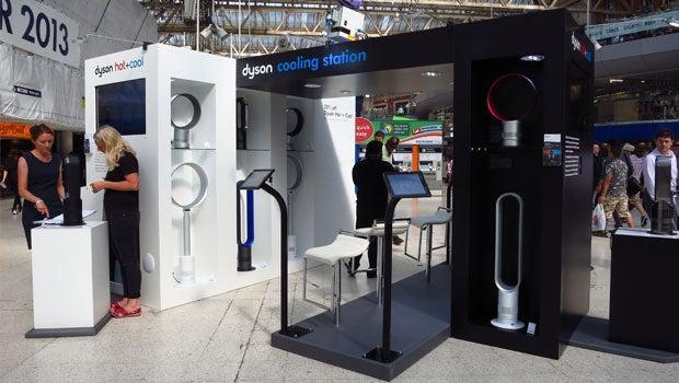 Dyson Cooling Station