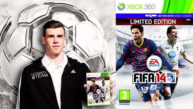 FIFA 14 cover star Gareth Bale