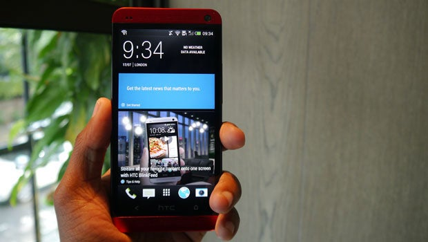 Glamour Red HTC One