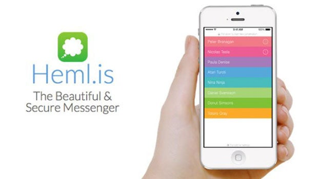 Hemlis iPhone and Android app