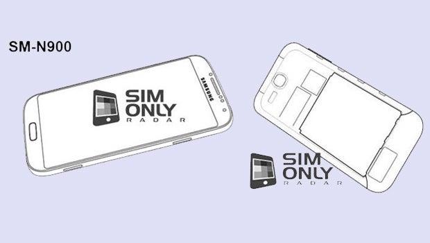 Samsung Galaxy Note 3 sketches