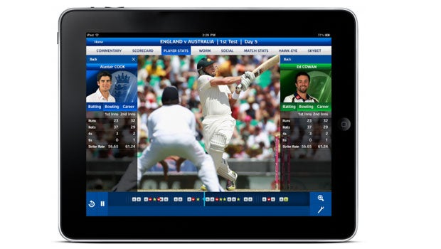 Sky Sports iPad app gets Ashes makeover
