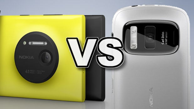 Lumia 920 vs 808 PureView
