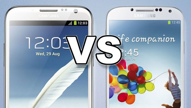 Samsung Galaxy S4 vs Note 2 | Trusted Reviews