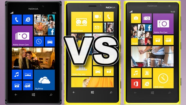 Nokia Lumia 1020 Vs Lumia 925 Vs Lumia 920 Trusted Reviews