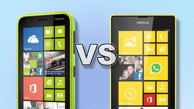 Lumia 520 vs 620