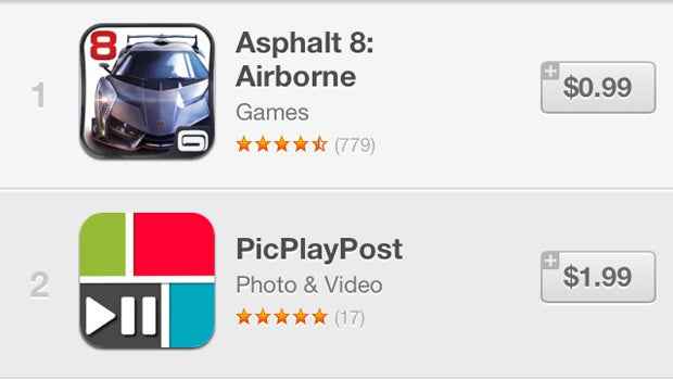 App Store charts