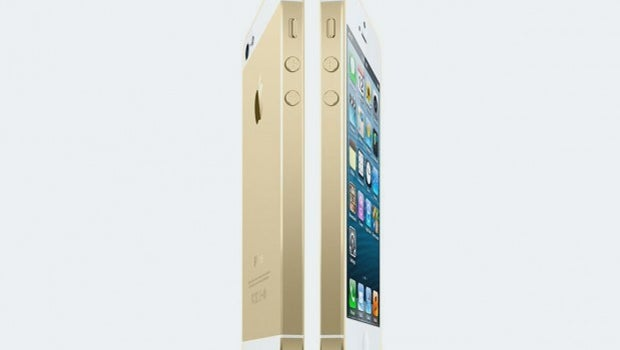 Gold iPhone 5S on the way?