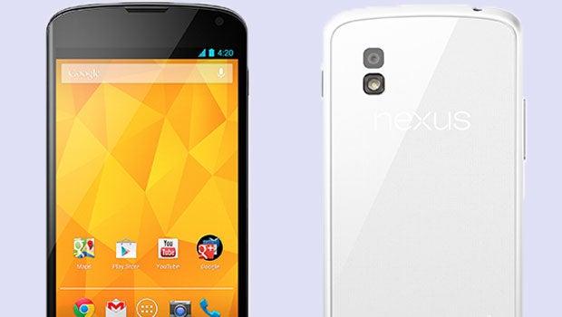 Google Nexus 4 white