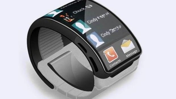 Samsung Galaxy Gear smartwatch concept