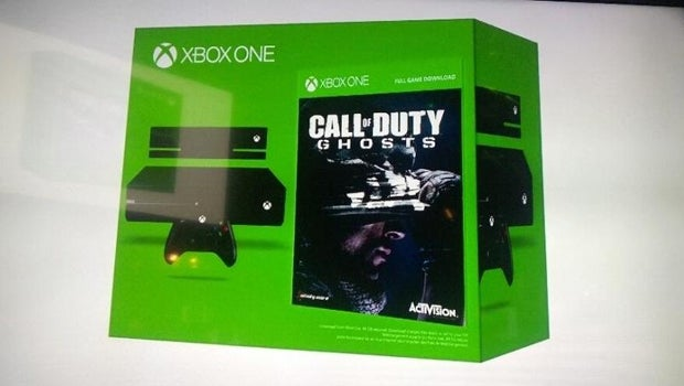 Xbox One Call of Duty: Ghosts bundle
